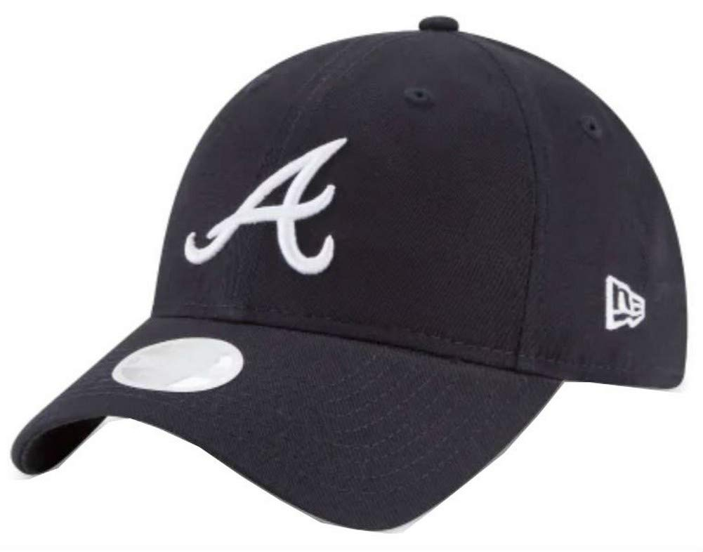 MLB Atlanta Braves Team Classic Road 39Thirty Stretch Fit Cap, Blue, Small/Medium