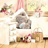 Me To You Tatty Teddy 3D Holographic Card - Bear in Bed