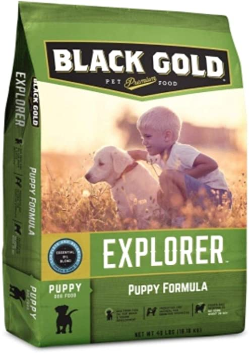 Black Gold Explorer Puppy Recipe Dry Dog Food