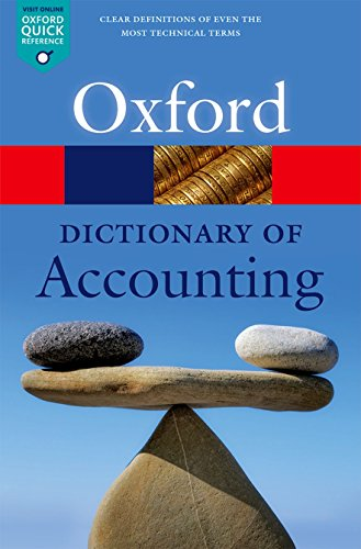 [B.E.S.T] A Dictionary of Accounting (Oxford Quick Reference) [Z.I.P]