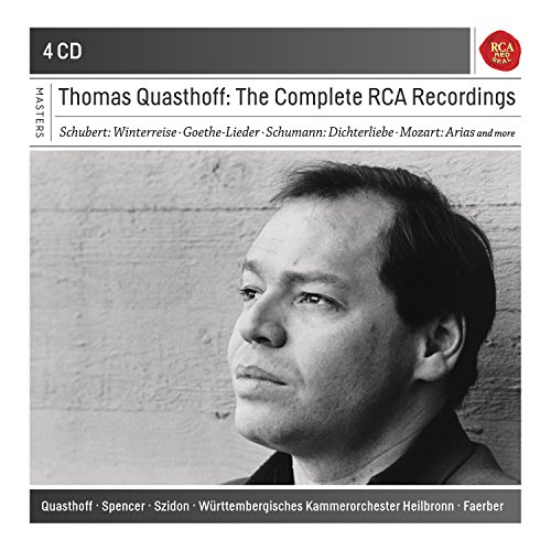 Price comparison product image Thomas Quasthoff: The Complete RCA Recordings (Sony Classical Masters)