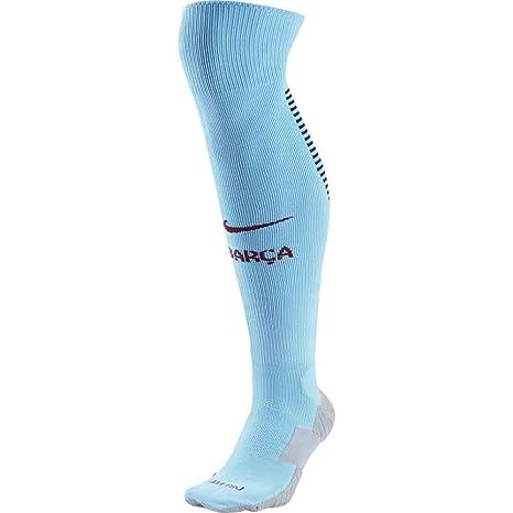 Amazon.com   NIKE 2017-2018 Barcelona Away Socks (Blue)   Sports ... e54979553