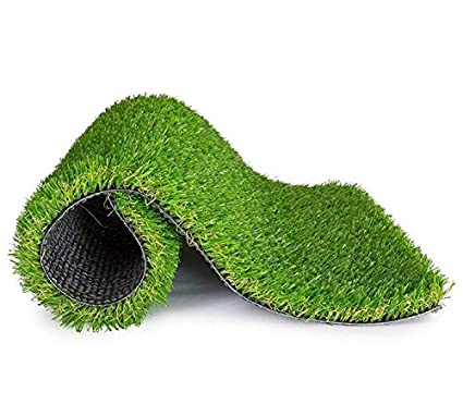 Furnishing Kingdom Sprayer Artificial Soft and Durable Plastic Grass for Door Matt, Balcony, Outdoor and Terrace Garden