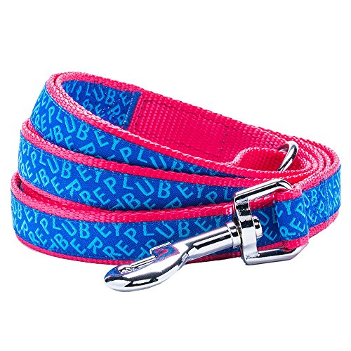 "Blueberry Pet Durable Chic & Fashionable Blueberry Pet Durable Statement Dog Leash 5 ft x 5/8"", Small, Leashes for Dogs"