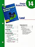 img - for Holt Environmental Science Chapter 14 Resource File: Land book / textbook / text book