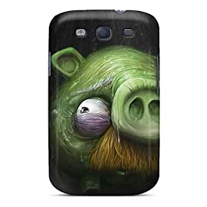 Durable Protector Case Cover With Angry Birds R Coming Hot Design For Galaxy S3