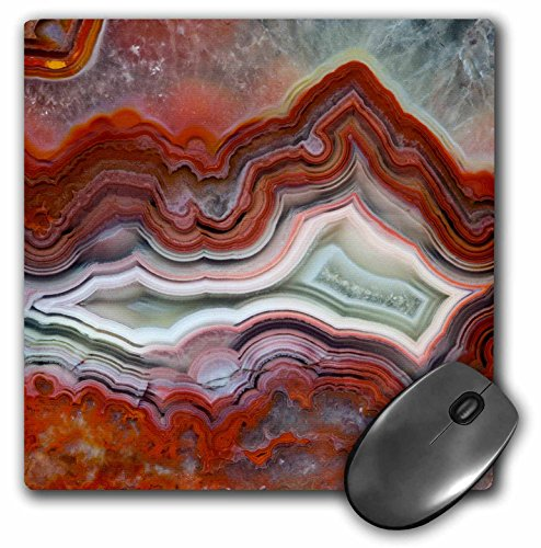 3dRose Mexican Crazy Lace Agate, Mouse Pad, 8