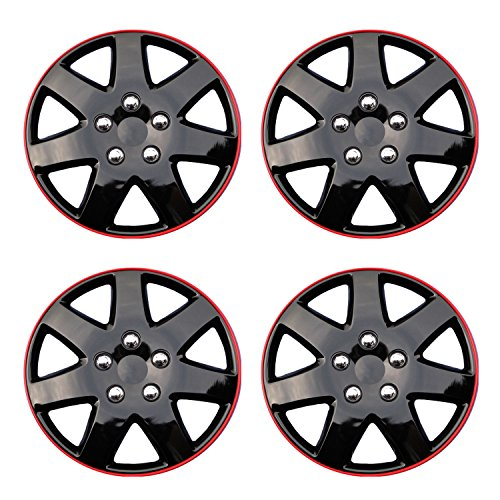 16 inch rims black and red - 4