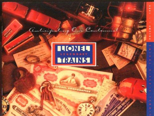 Lionel Classic Electric Trains Catalog 1999 - Catalog Classic Lionel