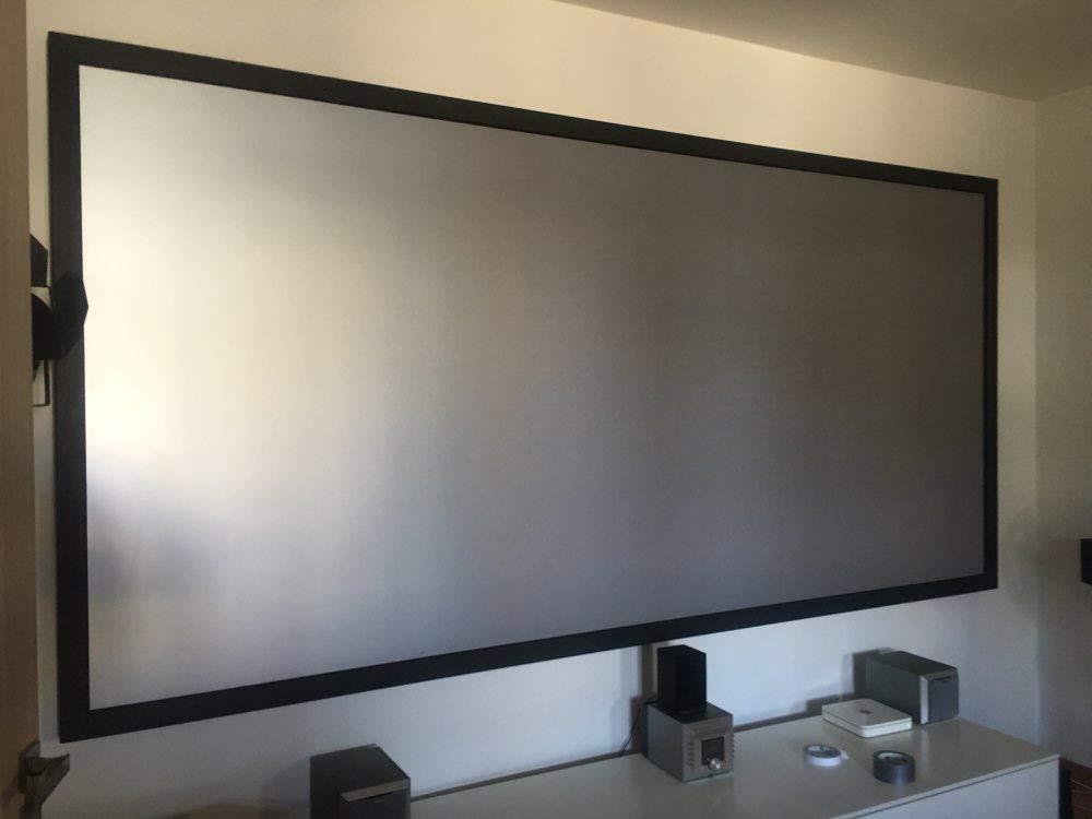 OSB STYLE Pantalla de proyector Tela de Tela Reflectante 72 84 100 ...
