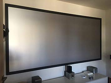 OSB STYLE Pantalla de proyector Tela de Tela reflectiva de ...