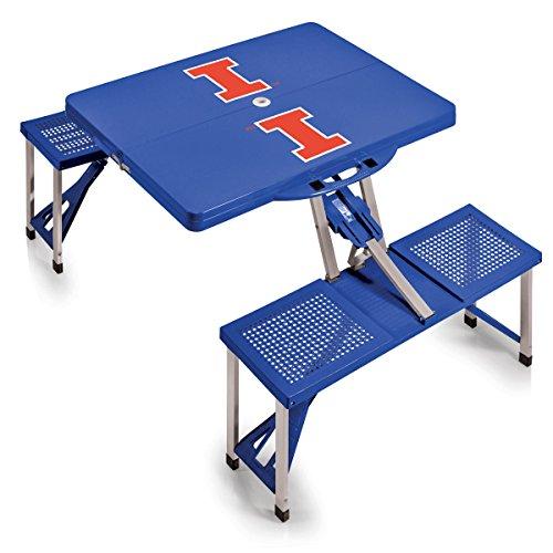NCAA Illinois Fighting Illini Portable Picnic Table