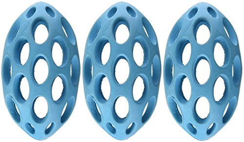 Cheap (3 Pack) JW Pet Company Sphericon Rubber Dog Toy, Assorted Colors (Small)