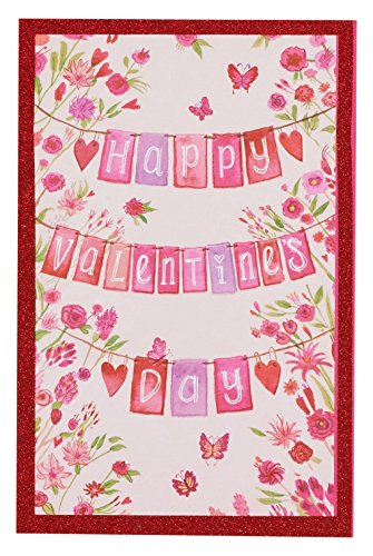 American Greetings Valentine Wish Valentine's Day Card with Glitter