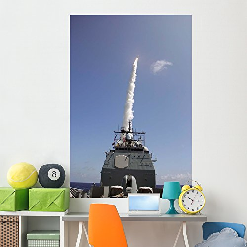 Standard Missile 2 Is Wall Mural by Wallmonkeys Peel and Stick Graphic (72 in H x 48 in W) -
