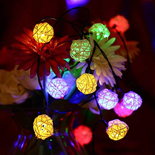 Rattan Outdoor Lighting in US - 2