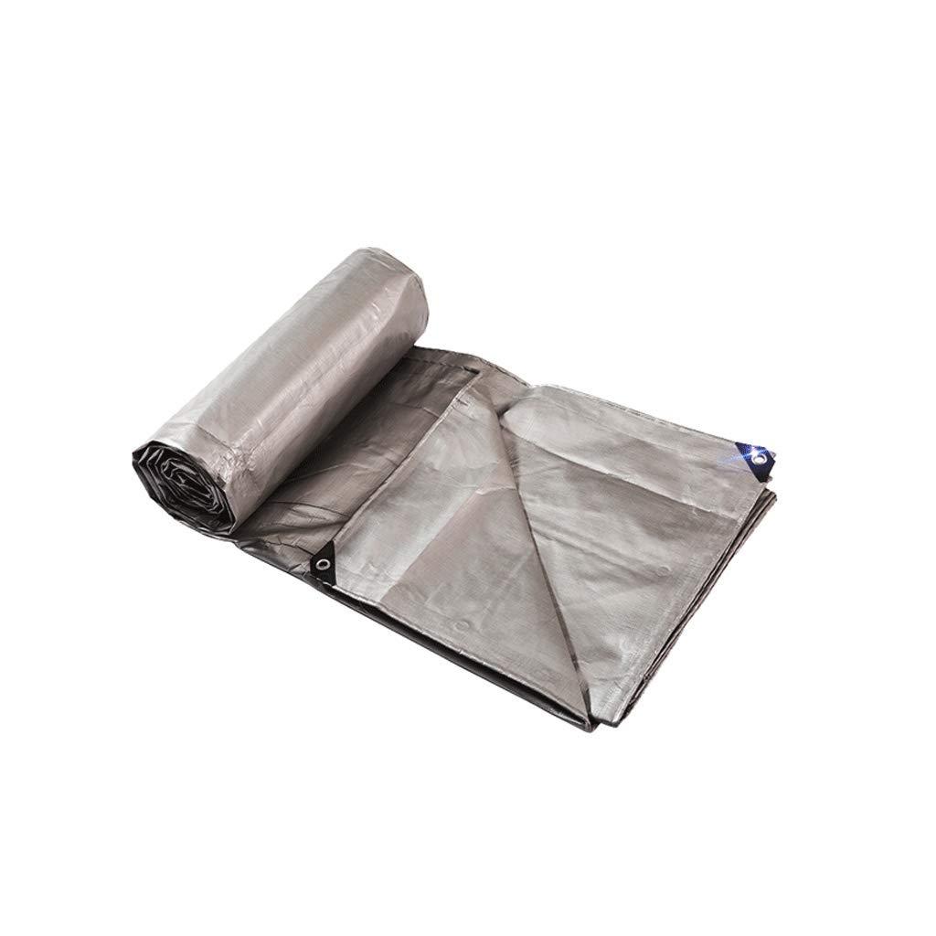 LCSHAN Regenschutztuch-Mode Multifunktions-Sonnenschutzmittel-staubdichtes heraus Wasserdichtes Plastikgewebe (größe : 5  6m)