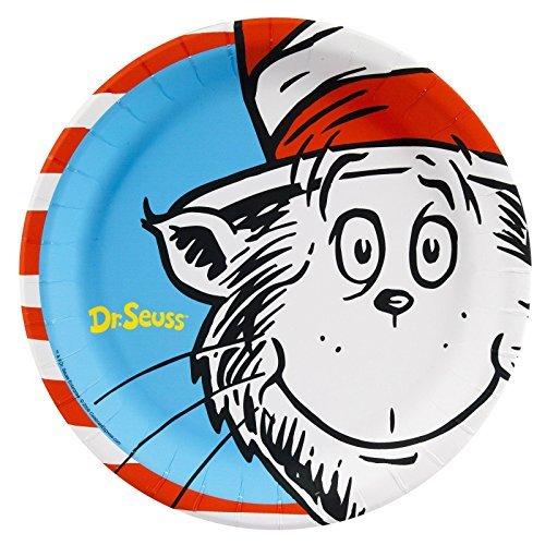 BirthdayExpress Dr. Seuss Party Dinner Plates (24)