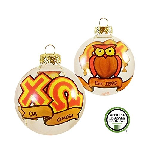 Chi Christmas Ornament (Whimsical Chi Omega Ornament)