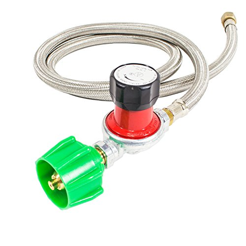 gas-one-propane-0-30-psi-adjustable-high-pressure-regulator-with-4-feet-qcc-1-type-hose-csa-certifie
