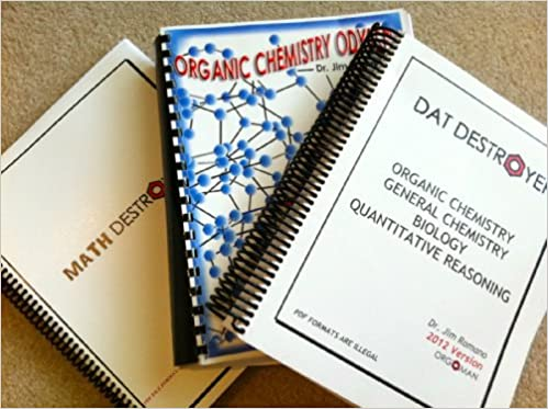 dat destroyer math and organic chemistry odyssey 2012 power pack