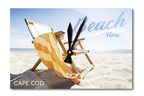 Cape Cod, Massachusetts - Folding Beach Chair (Acrylic Wall (Cape Cod Beach Chair)