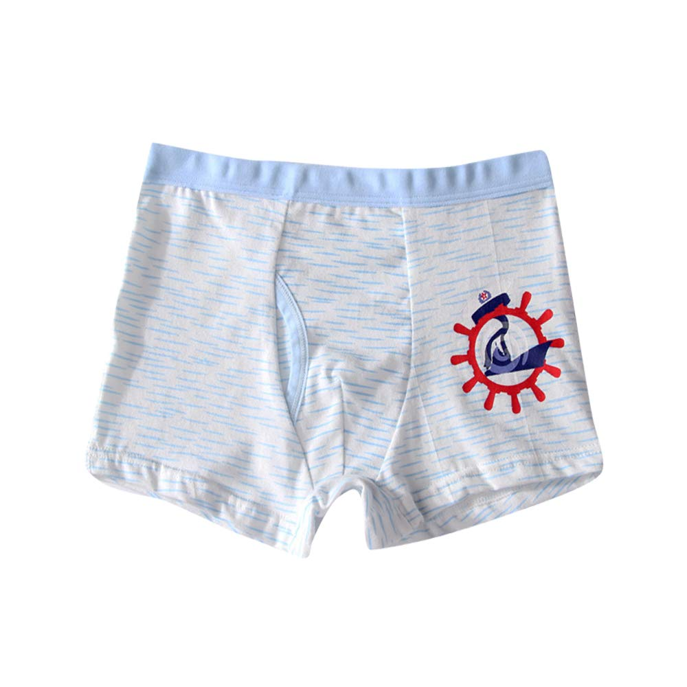 Orinery Cotton Boys Boxer Briefs Teenager Hipster Panties 4 Pack