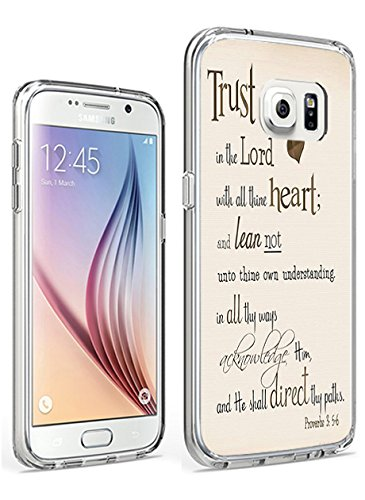 Samsung Galaxy S7 Protective Case Trust in the Lord with All Thine Heart and Lean not unto thine Own Understanding Proverbs 3:5.6 ()