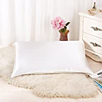 ALASKA BEAR - Natural Silk Pillowcase, Hypoallergenic, 19...
