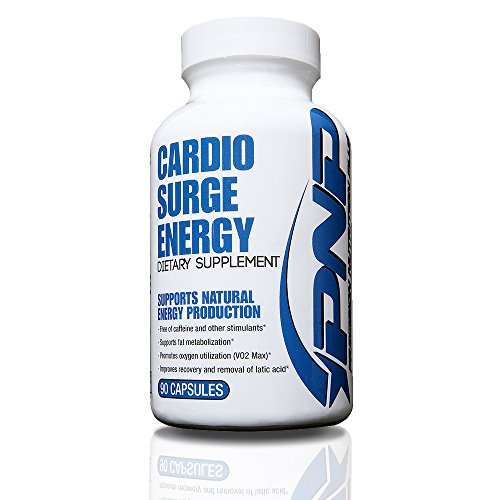 Cardio Surge Energy | Stimulant Free All-Natural Pre-Workout Endurance Supplement | Peak VO2 Max, Endurance and Natural ATP Energy Booster | 90 Veggie Capsules