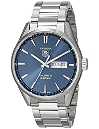 Tag Heuer Men's WAR201E.BA0723 Carrera Analog Display Swiss Automatic Silver Watch