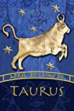 Toland Home Garden Zodiac Taurus 28 x 40 Inch Decorative Astrology Bull Sign House Flag For Sale