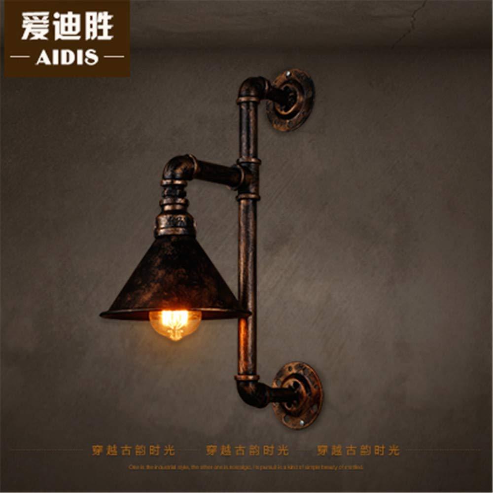 JJZHG Wandleuchte Wandlampe Wasserdicht Wandbeleuchtung Vintage Wandleuchte Hotel Cafe bar spezielle Wandleuchte (9,5  45 cm) beinhaltet  Wandlampe,stoere wandlampen,wandlampen Design