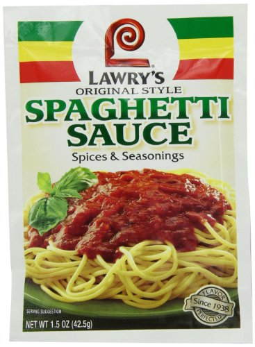 Lawry's Spaghetti Mix, 1.5 oz (Pack of 24)