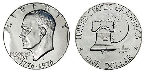 1976 S Eisenhower IKE Dollar Clad proof Dollar Proof US Mint