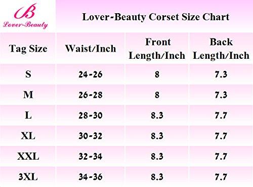Beauty Lover - Corsé - para mujer marrón