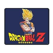 "9.8"" X 11.8"" X 0.12"" Dragon Ball Z Super Saiyan Washable Gaming Fashion Gel Mouse Pad Mouse Mat"