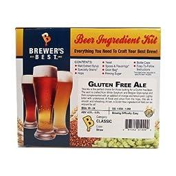 Brewer\'s Best Gluten Free Ale Beer Ingredient Kit