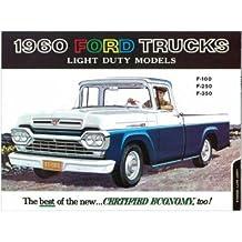 1960 Ford F100 F250 F350 Truck Sales Brochure Book