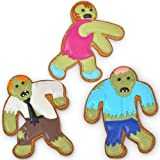 Undead Fred Zombie Shaped Cookie Cutters Novelty Kitchen Bakeware, Garden, Lawn, Maintenance by Garden-Outdoor