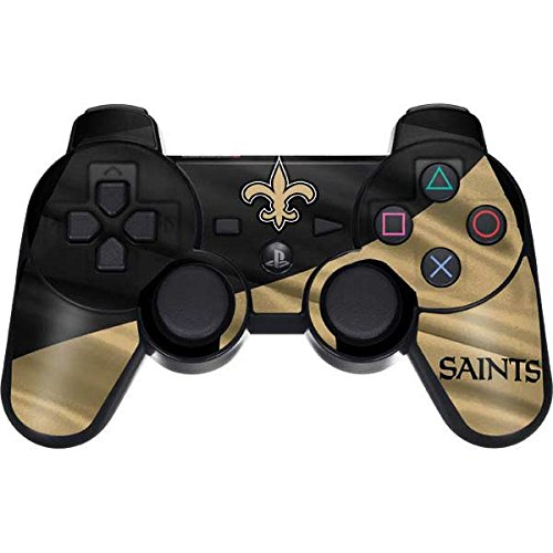 New Orleans Saints PS3 Dual Shock wireless controller Skin - New Orleans Saints | NFL & Skinit Skin by Skinit