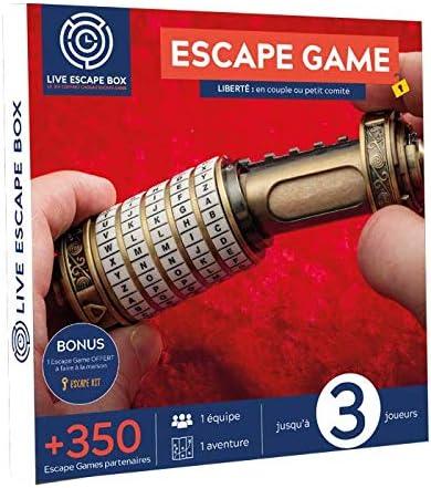 Caja de Regalo de Escape de Juego Libertad con 3 Jugadores: Amazon.es: Deportes y aire libre