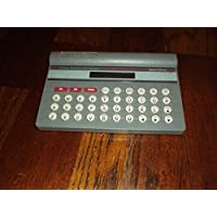 Vintage 1988 Smith Corona Electronic Dictionary and Calculator Spell Mate and Manual (Made in Thailand) Rare, Sleek, Gorgeous