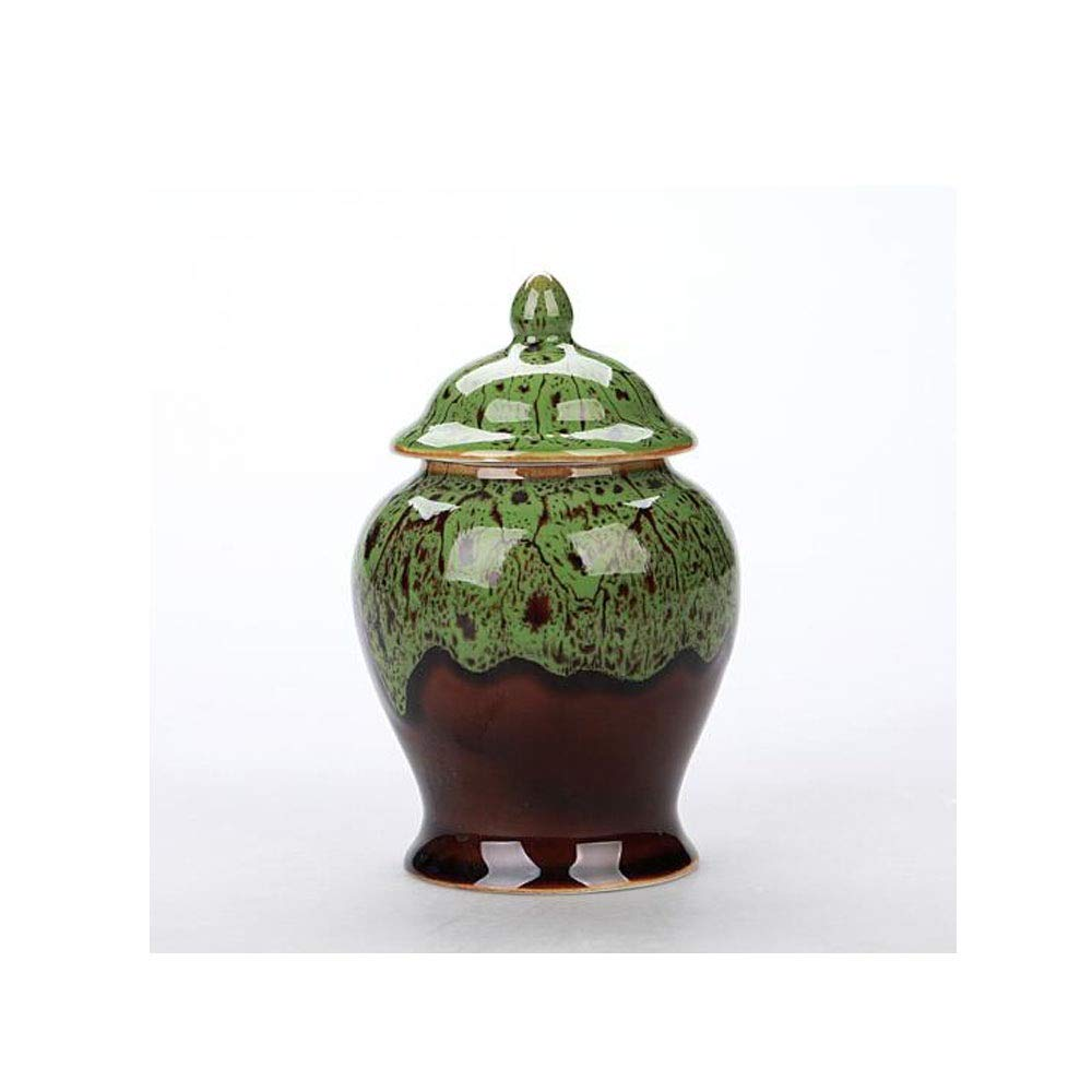 Boyuanweiye Pet Ashes, Close Relatives and Dear Pet Souvenirs Elite Pet Cremation Urn (Ceramic Sapphire bluee) Good Material (color   Agate Green)