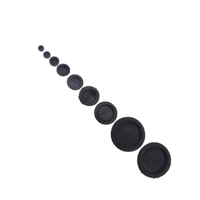 ENET Ojales de Goma para Bloquear Cables el/éctricos de 6 mm a 50 mm