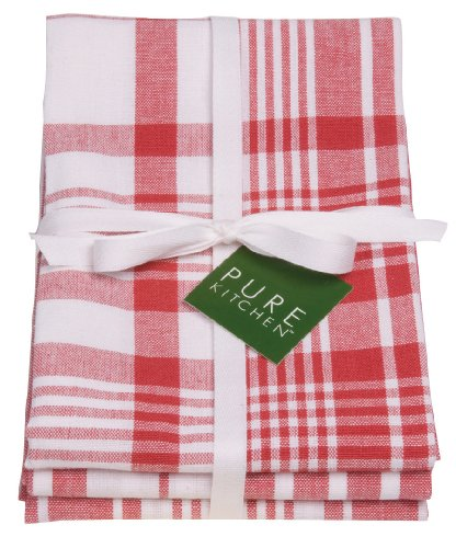 Red Kitchen Towels: Now Designs Jumbo Pure Kitchen Towel Set Of 3, Red