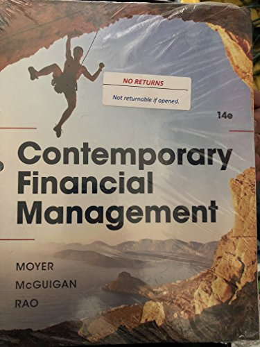 Contemporary Financial Management, Loose-Leaf Version