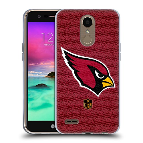 Official NFL Football Arizona Cardinals Logo Soft Gel Case for LG K10 (2017) / K20 ()