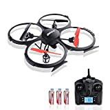 Potensic® UDI 818A 2.4G 4CH 6-Axis Gyro RC Quadcopter Drone UFO with HD camera