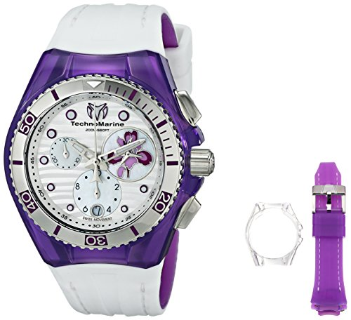 TechnoMarine Women's 114004 Cruise Beach Analog Display Quartz White Watch